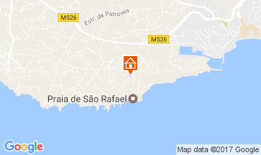 Map Albufeira Apartment 109918