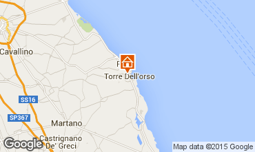 Map Torre dell'Orso House 81153