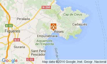 Map Rosas Apartment 103491