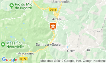 Map Saint Lary Soulan House 117672