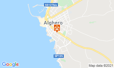 Map Alghero Apartment 51195