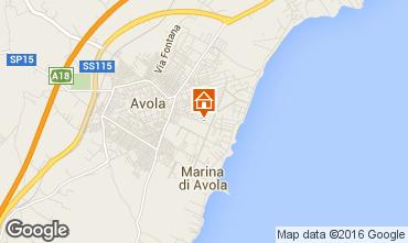 Map Avola Apartment 47885