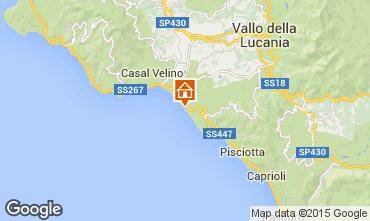 Map Ascea Villa 46892