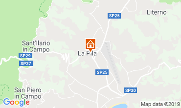 Map Campo nell'Elba Apartment 119970