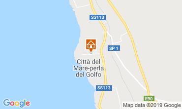 Map Terrasini Villa 83225