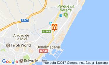 Map Torremolinos Apartment 108216