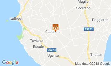 Map Casarano Villa 116326