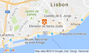 Map Lisbon House 37871