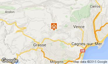 Map Cannes Villa 92568