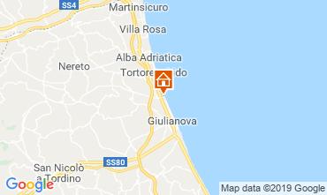 Map Giulianova Apartment 71115