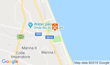 Map Giulianova Apartment 71115
