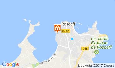Map Roscoff Apartment 110713