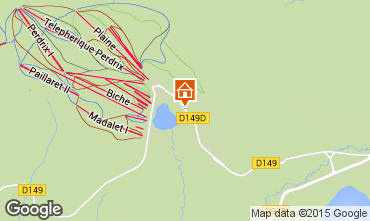 Map Besse - Super Besse Chalet 3792