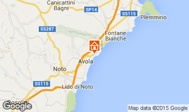 Map Avola Villa 23625