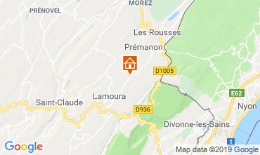 Map Les Rousses Chalet 89314