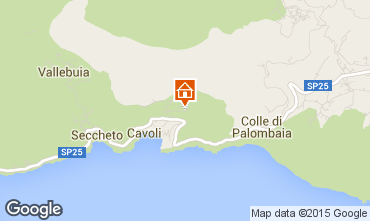 Map Campo nell'Elba Apartment 80792