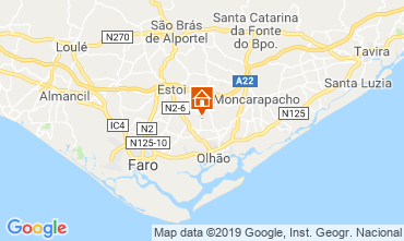 Map Olhão House 65351