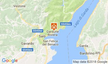Map Gardone Riviera Apartment 114062