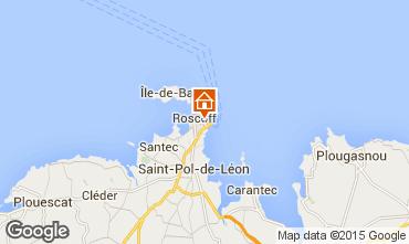 Map Roscoff One-room apartment 97779