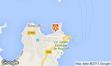 Map Roscoff One-room apartment 97779