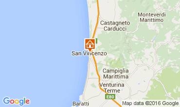 Map San Vincenzo Apartment 104398