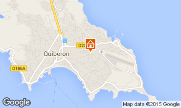 Map Quiberon Apartment 29849