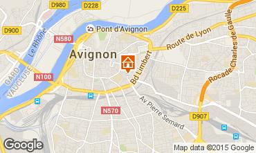 Map Avignon Apartment 94529