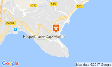 Map Roquebrune Cap Martin Apartment 110242