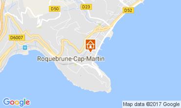 Map Roquebrune Cap Martin Apartment 110242