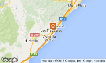 Map La Ametlla de Mar Villa 9665