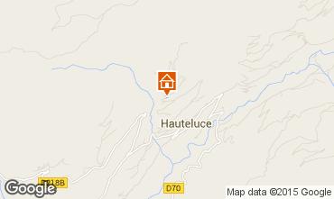 Map Hauteluce Chalet 68480