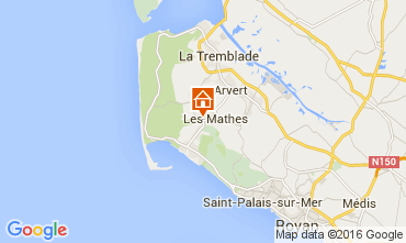 Map La Palmyre Mobile home 99916