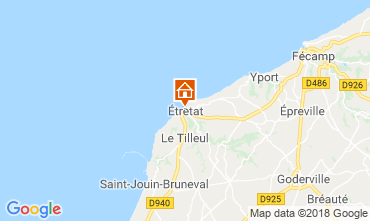 Map Etretat House 7731