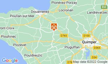 Map Douarnenez House 13138