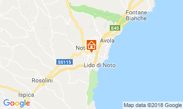 Map Noto Villa 117251