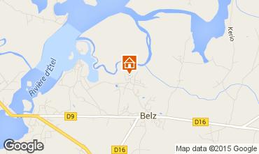 Map Belz Vacation rental 11748