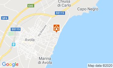 Map Avola House 80686