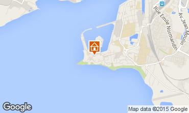 Map La Rochelle Apartment 79237