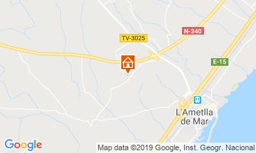 Map La Ametlla de Mar Villa 81245