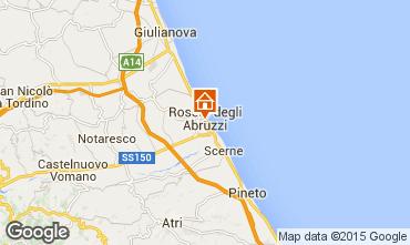 Map Roseto degli Abruzzi Apartment 98649
