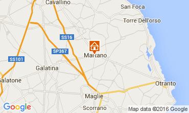 Map Martano Villa 103268