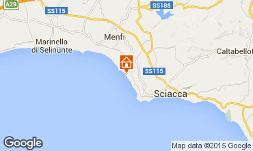 Map Sciacca Bungalow 32808