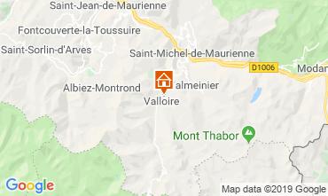 Map Valloire Apartment 84226