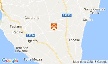 Map Specchia Villa 113782