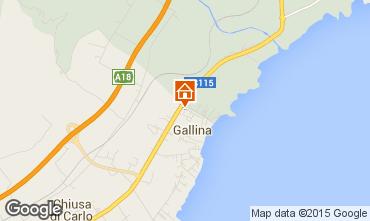 Map Avola Villa 92533