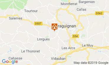 Map Lorgues Villa 118602