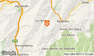 Map Valmorel One-room apartment 66008