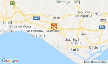 Map Almancil Apartment 80413