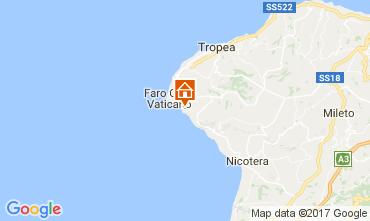 Map Capo Vaticano Apartment 96370
