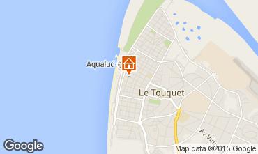Map Le Touquet One-room apartment 38630